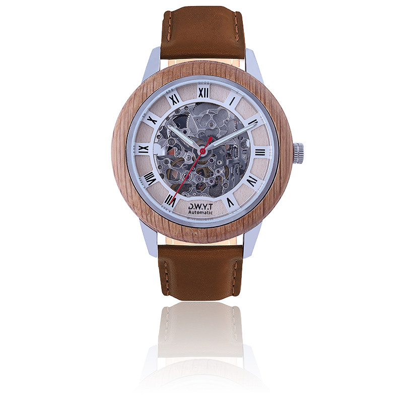 Montre Constantin Marron Sénois DW-01701-1024