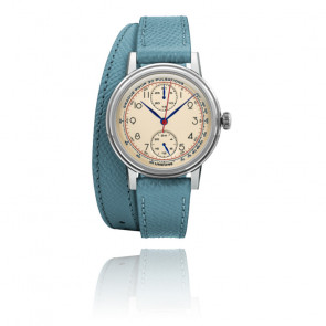 Montre Urban Killy 34, deux bracelets bleus