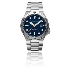 Montre Boettger cadran bleu SP-5083-22