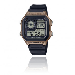 Montre World Map AE-1200WH-5AVEF