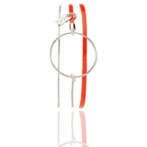 Bracelet Nolah Orange Blood
