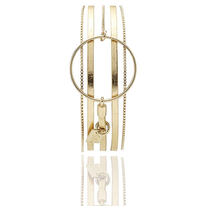 Bracelet Alice Doré Glacé