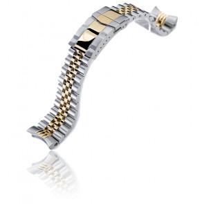 Bracelet  Super-J Louis 22mm SS221805P2G020-S5 pour Seiko 5