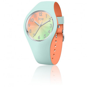 Montre ICE Duo Chic - Aqua Coral Small 016981