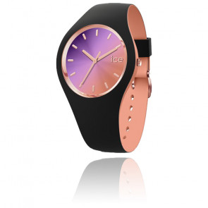 Montre ICE Duo Chic - Black Purple Medium 016982