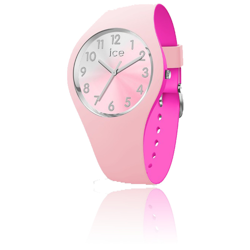 Montre ICE Duo Chic - Pink Silver 016979