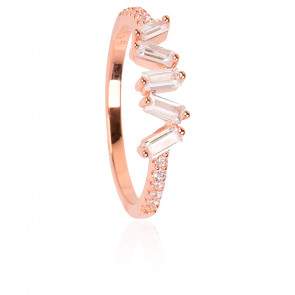 Bague Wave Rose