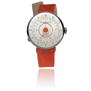 KLOK-08-D2 - Cadran Blanc et orange