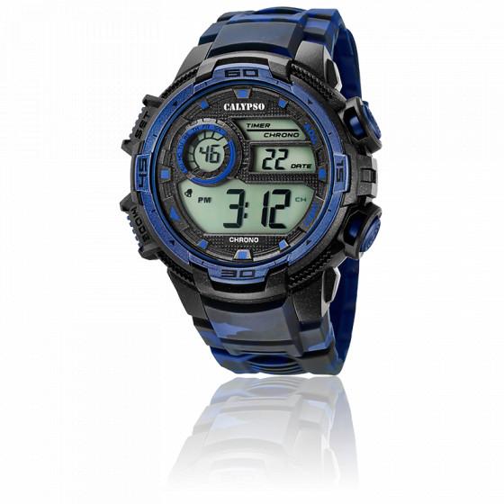 Montre X-Trem Chrono Bleue K5723/1