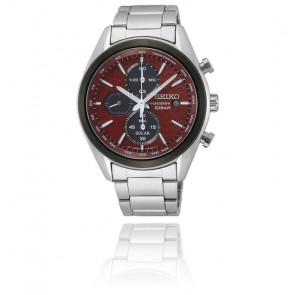 "Montre Sport Chrono Quartz Solaire  ""Machina Sportiva"" SSC771P1"