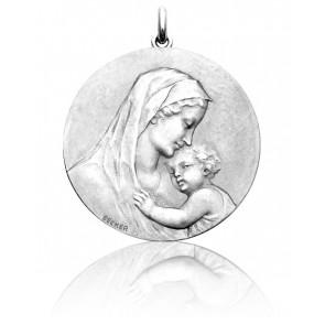 Médaille Vierge Maternité Argent
