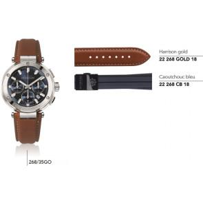 Bracelets en cuir et caoutchouc pour montre série 268/…