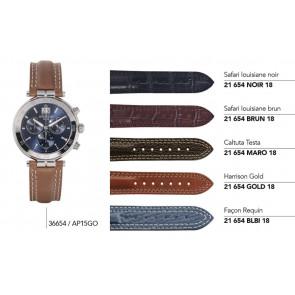 Bracelets en cuir pour montre série 36654