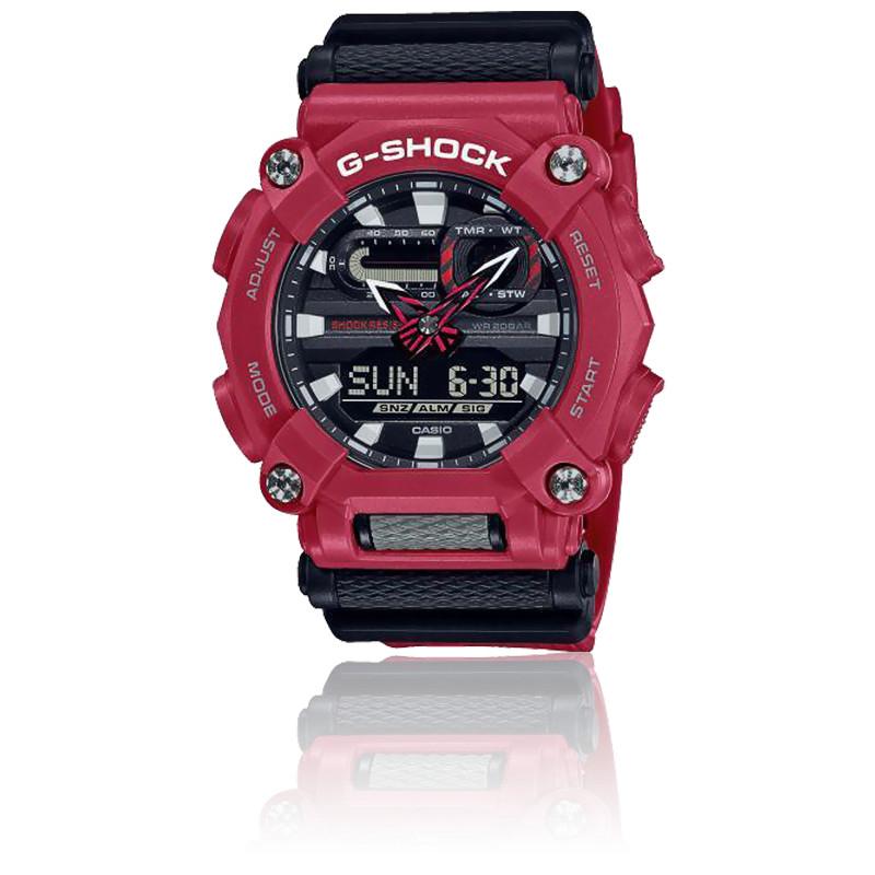 Montre Classique Rouge GA 900 4AER – Casio G Shock Ocarat