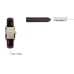 Bracelet façon Croco havane pour montre série 12872