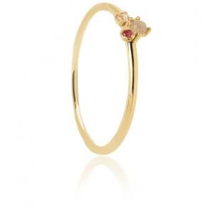 Bague Rosé Blush dorée - AN01-191