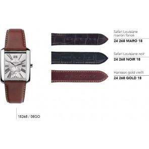 Bracelets en cuir pour montre série 18268