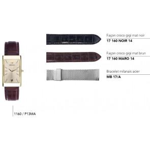 Bracelets en cuir pour montre série 1160