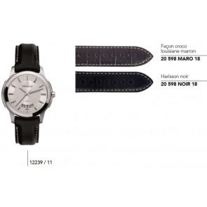 Bracelets en cuir pour montre série 12239/…