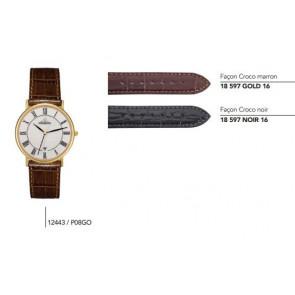 Bracelets en cuir pour montre série 12443