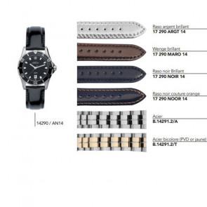 Bracelets en cuir ou acier pour montre série 14290 / ... 14291 / ...
