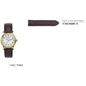 Bracelets en cuir pour montre série 12432 / ..