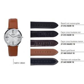 Bracelets en cuir pour montre série 16815