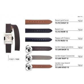 Bracelets en cuir pour montre série 17437