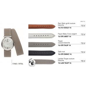 Bracelets en cuir pour montre série 17465