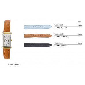 Bracelets en cuir pour montre série 1048