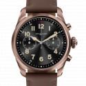 Montre Summit 2 Acier couleur marron et cuir MB126479