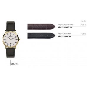 Bracelets en cuir pour montre série 413