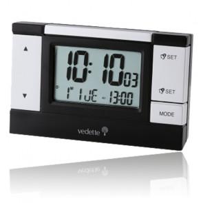Réveil LED Noir VR30025