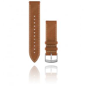 Bracelet de montre Quick Release Cuir Italien marron clair 010-12691-0A