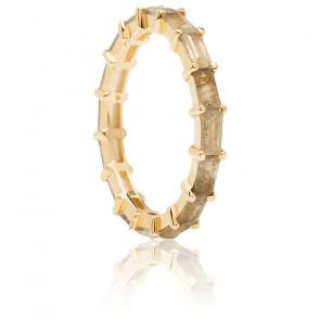 Bague Pistil dorée - AN01-220