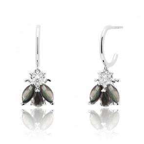 Boucles d'oreilles Zaza en argent - AR01-314-U