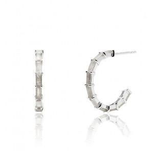 Boucles d'oreilles Pistil en argent - AR02-322-U