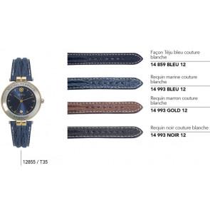 Bracelets en cuir pour montre série 12855/...