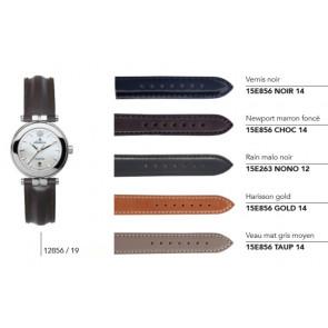 Bracelets en cuir pour montre série 12856/... 17456/...