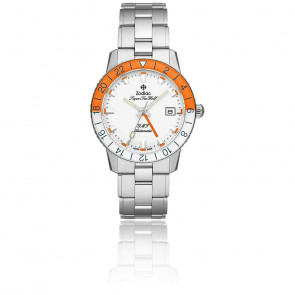 "Montre SuperSea Wolf GMT ""Sherbet"" ZO9403 Limited Edition"
