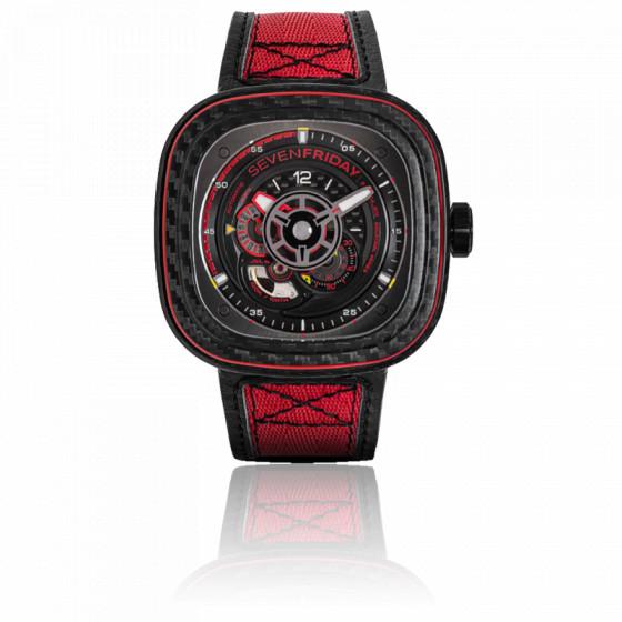 Montre P3C/04 Red Carbon