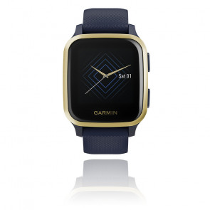 Montre Venu SQ Music Edition Captain Blue / Light Gold 010-02426-12