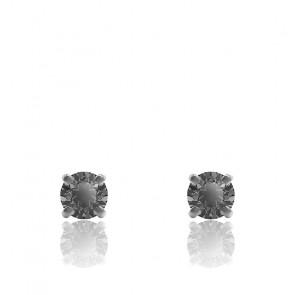 Boucles d'oreilles noires & grises, 5571555