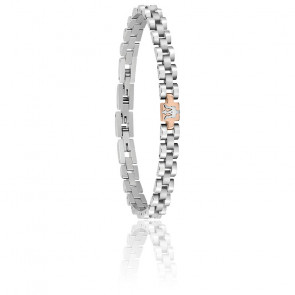 Bracelet en acier gris JM219AQH17