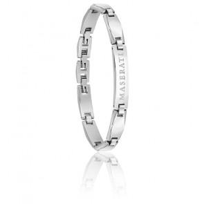 Bracelet en acier gris JM220ASQ02