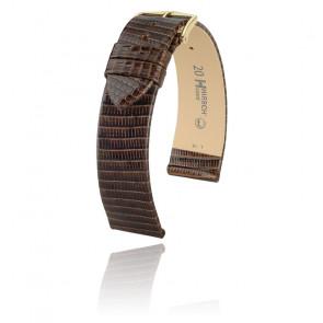 Bracelet de montre Lizard Marron 01766110