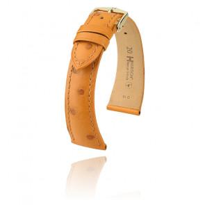 Bracelet Massai Ostrich Miel 046275