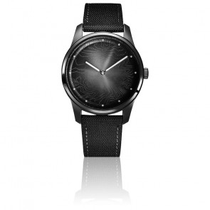 Montre Femme 36 mm Origins Moon Black