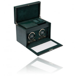 Remontoir British Racing Green Double Watch Box 792241