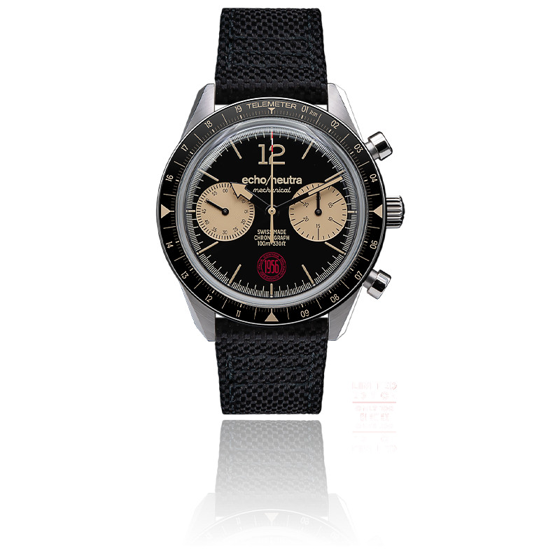 Montre CORTINA 1956 Chronograph Black